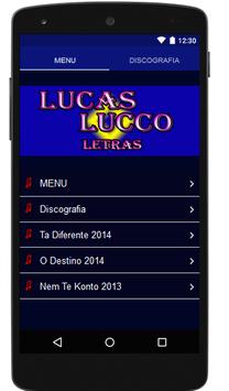 Lucas Lucco Letras Completo poster