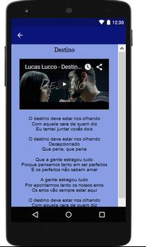 Lucas Lucco Letras Completo screenshot 1