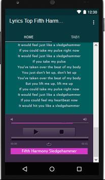 Fifth Harmony Music&Lyrics screenshot 3