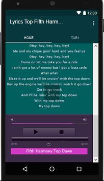Fifth Harmony Music&Lyrics screenshot 2