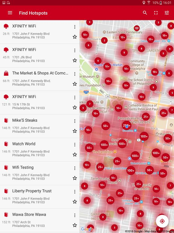 Xfinity WiFi Hotspots for Android - APK Download