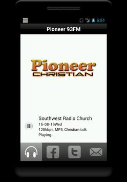 Pioneer 93FM poster