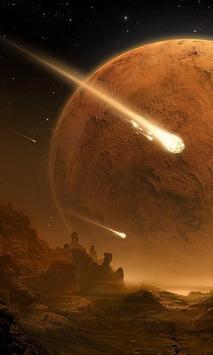 comet wallpaper poster