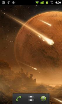 comet wallpaper apk screenshot