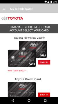 Toyota Card screenshot 2