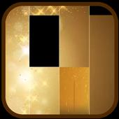 Gold Piano Tiles 2018 icon