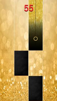 Gold Piano Tiles 2018 screenshot 2