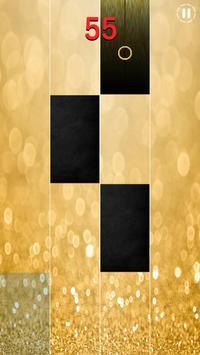 Gold Piano Tiles 2018 screenshot 3