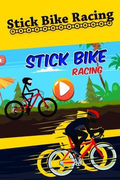 Stick Bike Racing poster