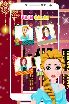 Hair Salon Game apk screenshot