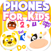 Phones for kids icon