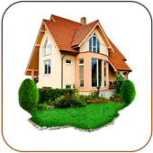 Very comfortable house icon