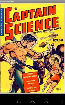 Comic: Captain Science poster