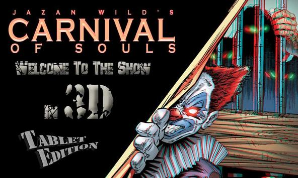 """3D CARNIVAL """"Tablet Edition"""" poster"""