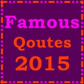 Famous Quotes 2015 icon