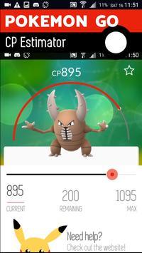 CP Estimator for Pokemon Go apk screenshot