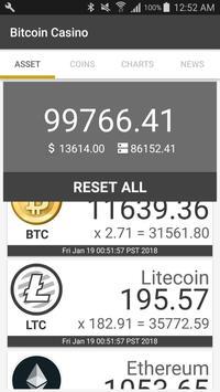 Bitcoin Casino poster