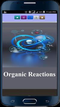Organic Reactions poster