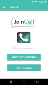 JoinCall poster