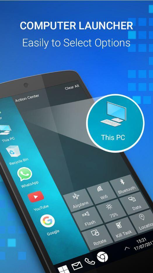 Computer Launcher for Win 10 for Android - APK Download