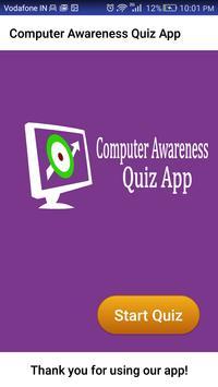 Computer Awareness Exam App poster