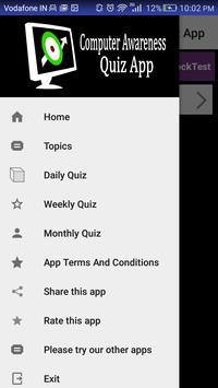Computer Awareness Exam App apk screenshot