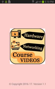 Computer Hardware and Networking Course Videos poster