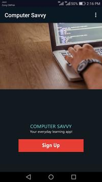 Computer Savvy poster
