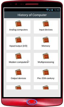 History of Computer poster