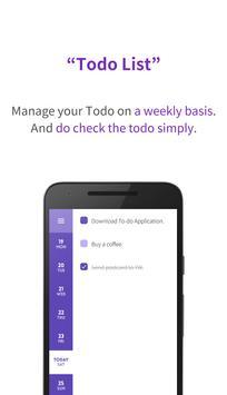 Your Week - Simple Todo / Task List screenshot 1