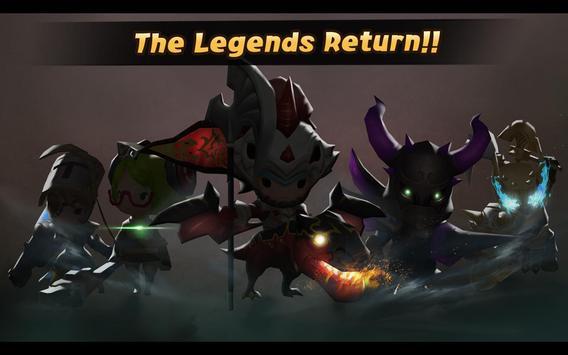 Buddy Rush: The Legends apk screenshot