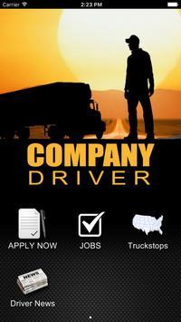 Company Driver poster