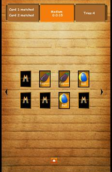 Memory Game:Match Cards 截圖 4