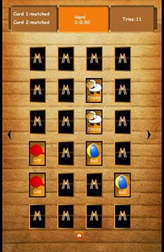 Memory Game:Match Cards 截圖 5
