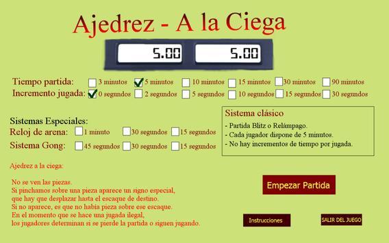 Ajedrez A la Ciega Ekran Görüntüsü 2