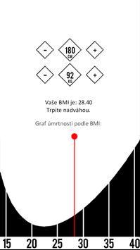 BMI Kalkulačka poster