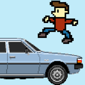 Jump Over Cars for Money icon