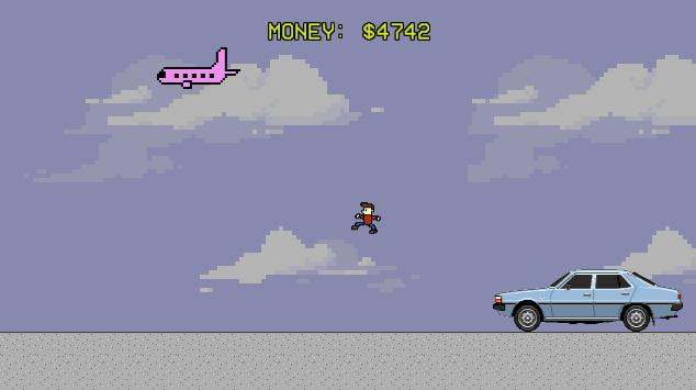 Jump Over Cars for Money poster