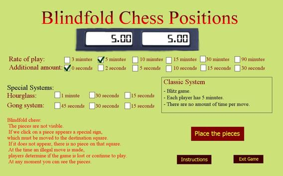 Chess Blindfold Positions screenshot 5