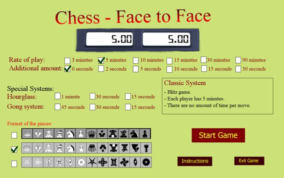 Chess Face to Face poster