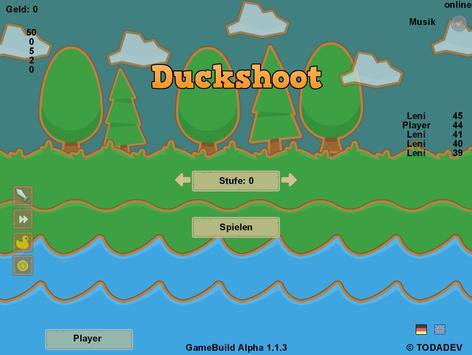 Duckshoot apk screenshot