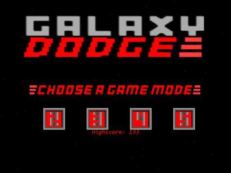 Galaxy Dodge poster
