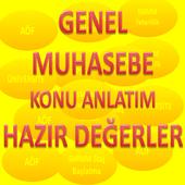 GENEL MUHASEBE HAZIR DEĞERLER icon
