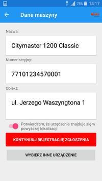 Zgłoszenie serwisowe HAKO POLSKA screenshot 4