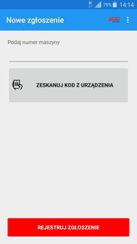 Zgłoszenie serwisowe HAKO POLSKA screenshot 1