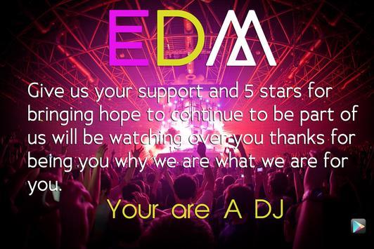 EDM DJ ELECTRO MUSIC MIX PAD captura de pantalla 3