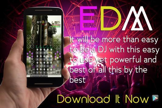EDM DJ ELECTRO MUSIC MIX PAD captura de pantalla 10