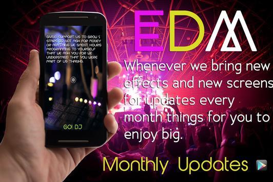 EDM DJ ELECTRO MUSIC MIX PAD captura de pantalla 1