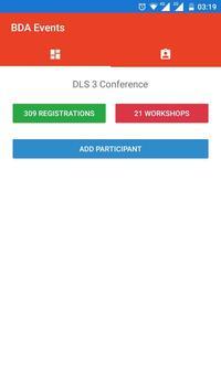 BDA Events screenshot 1