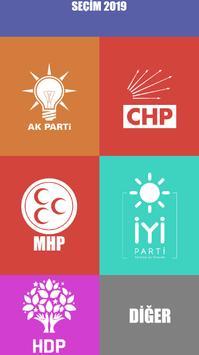 Seçim Anketi 2019 poster
